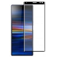 Защитное 3D стекло для Sony Xperia 10 plus (черный)