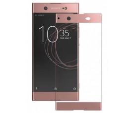 3D стекло для Sony Xperia XA1 Ultra (Розово-золотистый)