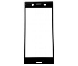 Полноклеющееся 3D стекло для Sony Xperia XZ Premium (Черный)