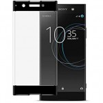 3D стекло для Sony Xperia XA1 Plus  с черными линиями