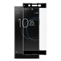 3D стекло для Sony Xperia XA1 Ultra (Черный)