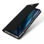 Кожаный чехол книжка DUX DUCIS для Sony Xperia 1 (Черный)