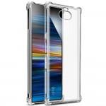 Прозрачный чехол с антиударными углами для Sony Xperia 10 Plus
