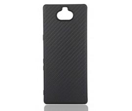 Гелевый чехол для Sony Xperia 10 (темно-коричневый)