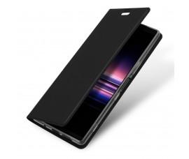 Кожаный чехол DUX DUCIS для Sony Xperia 5 (Черный)
