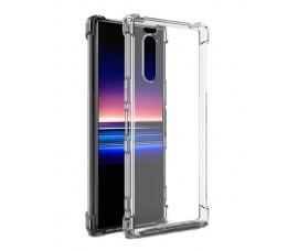 Прозрачный гелевый чехол с антиударными углами для Sony Xperia 5