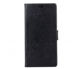 Кожаный чехол для Sony Xperia L1 (Черный)