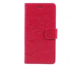 Кожаный чехол для Sony Xperia L1 (Красный)