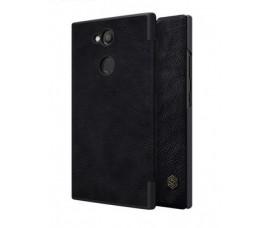 Чехол книжка Nillkin Qin для Sony Xperia L2 (Черный)