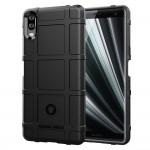 Антиударный силиконовый чехол для Sony Xperia L3 (Черный)