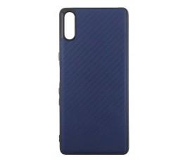 Гелевый чехол для Sony Xperia L3 (Синий)