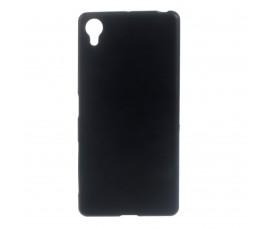 Матовый чехол для Sony Xperia X (Черный)
