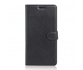 Кожаный чехол для Sony Xperia XA Ultra (Черный)