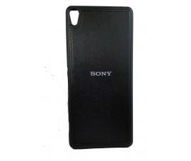 Кожаный чехол для Sony Xperia XA (Черный)