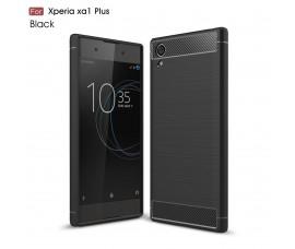 Чехол для Sony Xperia XA1 Plus Carbon Fibre