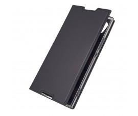 Кожаный чехол для Sony Xperia XA1 (Серый)