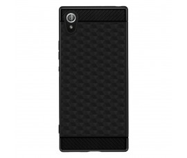 Чехол для Sony Xperia XA1 с геометрическими узорами (Черный)
