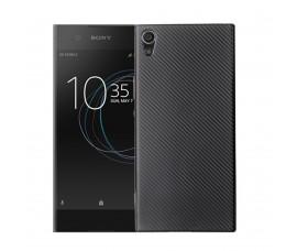 Карбоновый чехол для Sony Xperia XA1 (Черный)