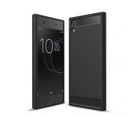 Чехол для Sony Xperia XA1 Carbon Fibre (Черный)