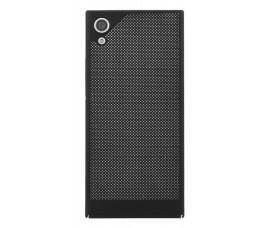 Пластиковый сеточный чехол для Sony Xperia XA1 (Черный)
