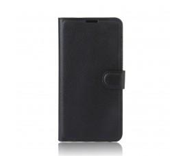 Кожаный чехол с карманами для Sony Xperia XA1 Ultra (Черный)