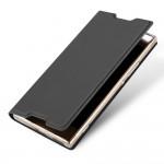 Кожаный чехол для Sony Xperia XA1 Ultra (Черный)