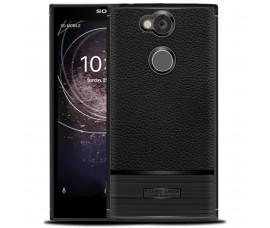 Текстурированный чехол для Sony Xperia XA2 (Черный)
