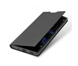 Кожаный чехол для Sony Xperia XA2 Plus DUX Ducis (Серый)