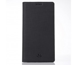 Кожаный чехол Vili DMX для Sony Xperia XA2 Plus (Черный)