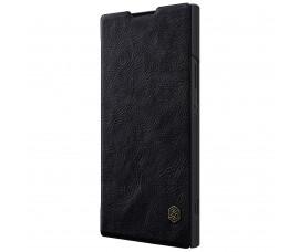 Кожаный чехол Nillkin для Sony Xperia XA2 Ultra (Черный)
