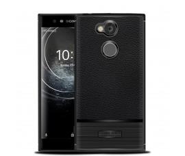 Текстурированный чехол для Sony Xperia XA2 Ultra (Черный)