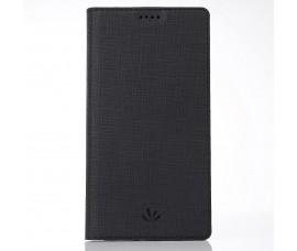 Кожаный чехол с магнетиком Vili Dmx для Sony Xperia XA2 Ultra (Черный)