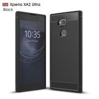 Чехол для Sony Xperia XA2 Ultra Carbon Fibre (Черный)