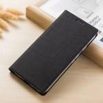 Кожаный чехол VILI DMX для Sony Xperia XZ1 Compact (Черный)