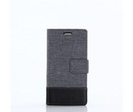 Чехол из ткани для Sony Xperia XZ1 Compact (Серый)