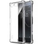 Прозрачный чехол с антиударными углами для Sony Xperia XZ1