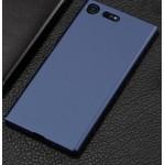Пластиковый чехол 360 защита для Sony Xperia XZ1 (Синий)