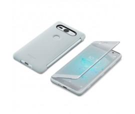 Оригинальный сенсорный чехол SCTH50 для Xperia XZ2 Compact (Серебристый)