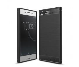 Чехол Carbon Fibre для Sony Xperia XZ Premium (Черный)