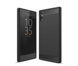 Чехол для Sony Xperia XZ/XZs Carbon Fibre (Черный)