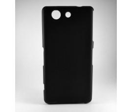 Матовый чехол для Sony Xperia Z3 Compact (Черный)