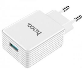 Быстрая зарядка Hoco Platinum Intelligent Fast Charger (Quick Charge 3.0)