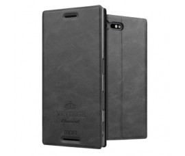 Кожаный чехол Mofi для Sony Xperia X Compact (Черный)
